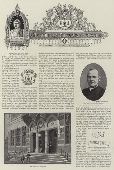 The Merchant Taylors' School--Giclee Print