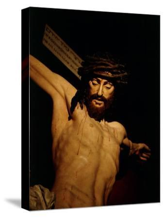 The Merciful Christ, Detail of Head with Crown of Thorns
