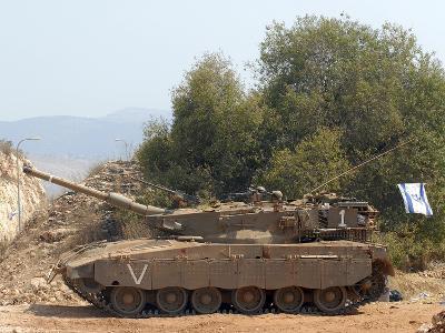 The Merkava Mark III-D main battle tank of the Israel Defense Force-Stocktrek Images-Photographic Print