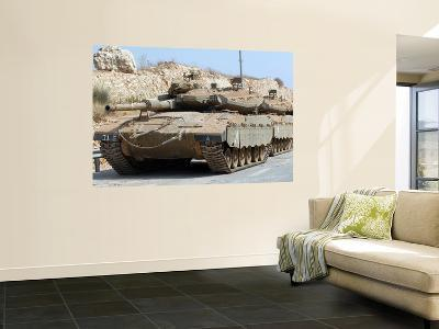 The Merkava Mark IV Main Battle Tank of the Israel Defense Force-Stocktrek Images-Giant Art Print