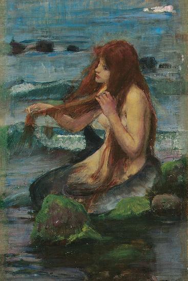 The Mermaid, 1892-John William Waterhouse-Giclee Print