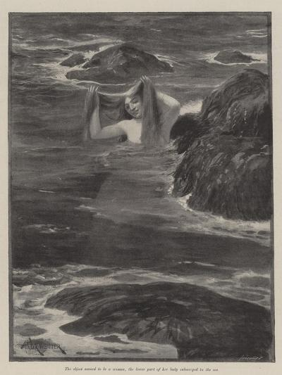 The Mermaid of Lighthouse Point-Amedee Forestier-Giclee Print