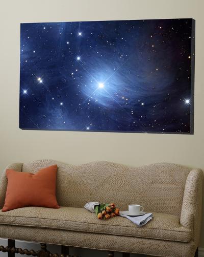 The Merope Nebulosity and IC 349--Loft Art