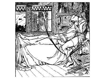 The Merry Adventures of Robin Hood-Howard Pyle-Premium Giclee Print