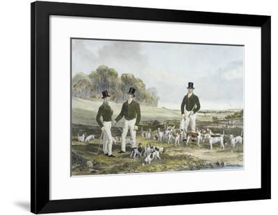 The Merry Beaglers-Harry Hall-Framed Premium Giclee Print