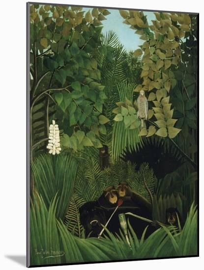 The Merry Jesters, 1906-Henri Rousseau-Mounted Giclee Print