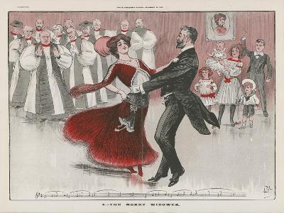 The Merry Widower--Giclee Print