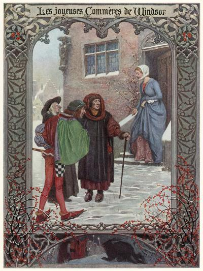 The Merry Wives of Windsor--Giclee Print