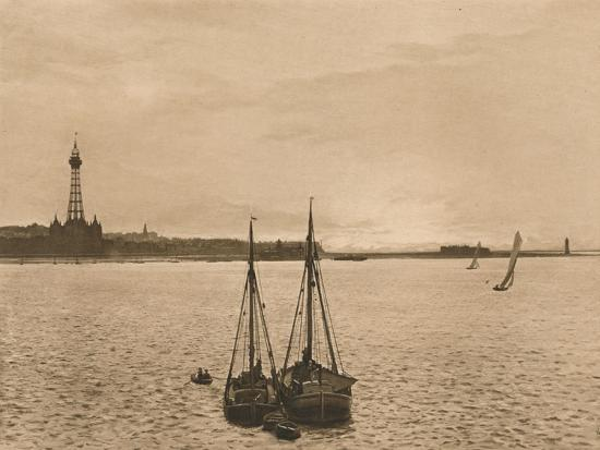 'The Mersey at New Brighton', 1902-Unknown-Photographic Print
