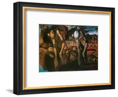 The Metamorphosis of Narcissus, c.1937-Salvador Dalí-Framed Art Print