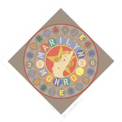 The Metamorphosis of Norma Jean Mortenson-Robert Indiana-Limited Edition