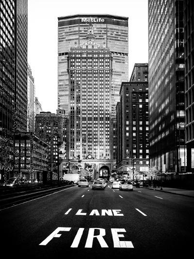 The Metlife Building Towers over Grand Central Terminal at Nightfall-Philippe Hugonnard-Photographic Print