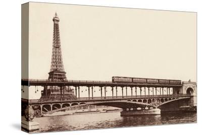 The Metro on the Passy Bridge, Paris, 1900