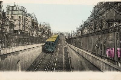 The Metro Ramp at Boulevard Rochechouart, 1905--Photographic Print