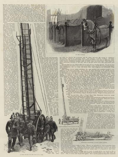 The Metropolitan Fire Brigade--Giclee Print