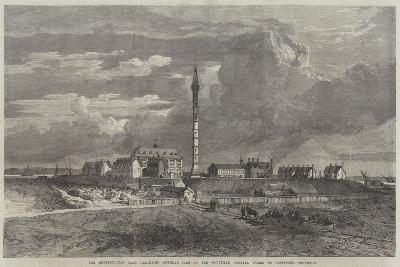 The Metropolitan Main Drainage, General View of the Southern Outfall Works at Crossness--Giclee Print