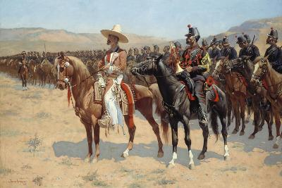 The Mexican Major, 1889-Frederic Remington-Giclee Print
