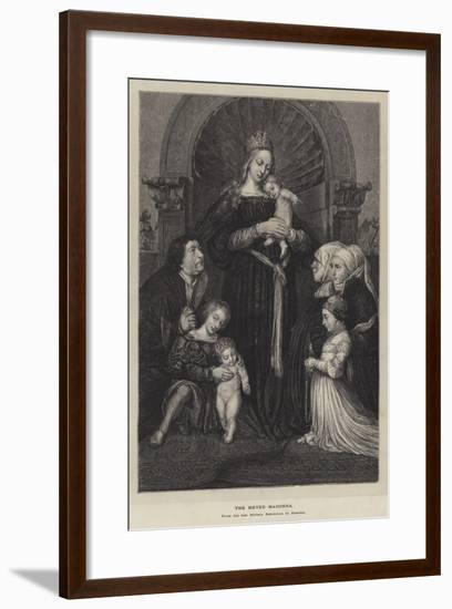 The Meyer Madonna--Framed Giclee Print