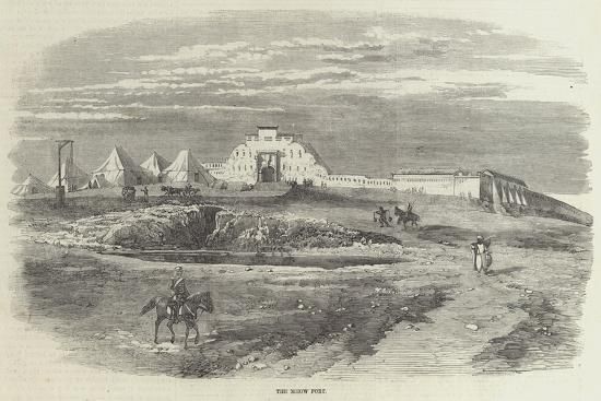 The Mhow Fort--Giclee Print