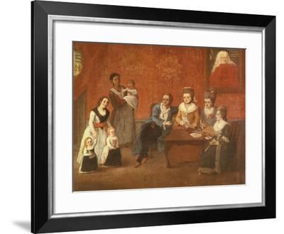 The Michiel Family, Ca 1780-Pietro Longhi-Framed Giclee Print