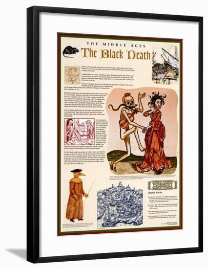 The Middle Ages - The Black Death--Framed Art Print