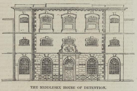 The Middlesex House of Detention--Giclee Print