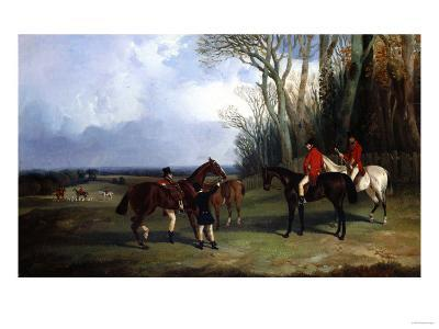 The Middleton-Mounting at Covertside-Giovanni Battista Benvenuti-Giclee Print