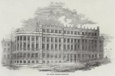 The Midland Institute, Birmingham--Giclee Print