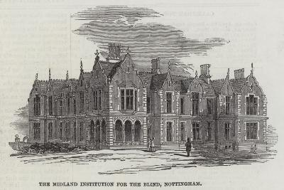 The Midland Institution for the Blind, Nottingham--Giclee Print
