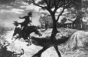 The Midnight Ride of Paul Revere by Percy Reeves