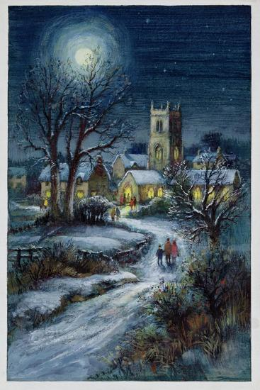 The Midnight Service-Stanley Cooke-Giclee Print