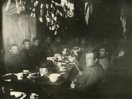'The Midwinter's Day Feast', June 1908, (1909)-Unknown-Photographic Print