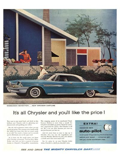The Mighty Chrysler Dartline--Art Print