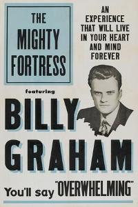 THE MIGHTY FORTRESS, Billy Graham, 1955