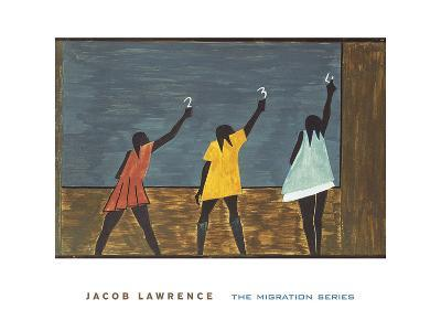 The Migration Series, No. 58, 1941-Jacob Lawrence-Art Print