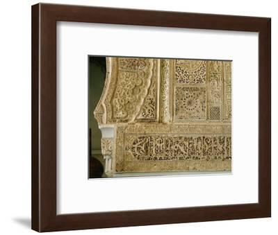 The mihrab of the little mosque of Sidi (Saint) Bel Hassen-Werner Forman-Framed Giclee Print
