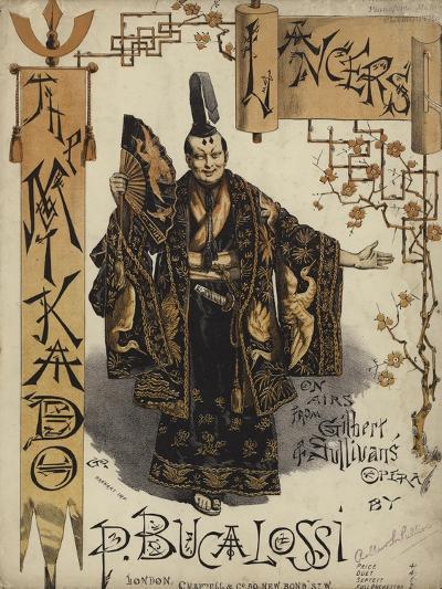 The Mikado Lancers--Giclee Print