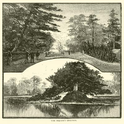 The Mikado's Grounds--Giclee Print