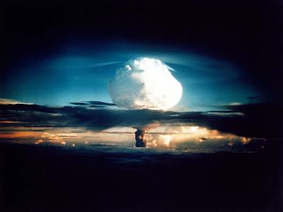 The Mike Shot, Was the First Successful Full-Scale Test Hydrogen Bomb, on Oct 31, 1952--Photo