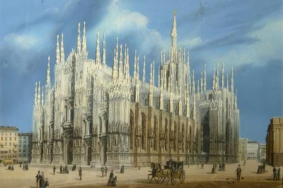 The Milan Cathedral, 1860S--Giclee Print