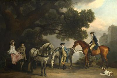 The Milbanke and Melbourne Families, Ca 1769-George Stubbs-Giclee Print