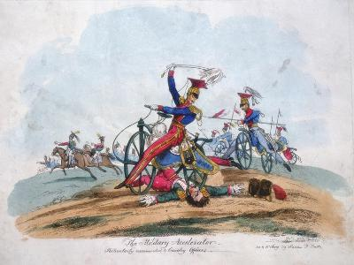 The Military Accelerator - Particularly Recommended to Cavalry Officers, C1820--Giclee Print