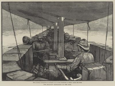 The Military Expedition Up the Nile-William Bazett Murray-Giclee Print
