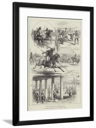 The Military in Malta--Framed Giclee Print