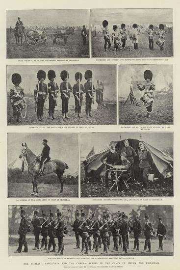 The Military Manoeuvres and the Camera, Scenes in the Camps of Churn and Crookham--Giclee Print