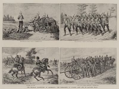 The Military Manoeuvres at Aldershot, the Operations at Caesar's Camp and on Laffan's Plain--Giclee Print