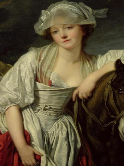 The Milkmaid-Jean-Baptiste Greuze-Giclee Print