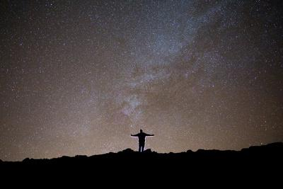 The Milky Way as Seen from the Summit of Haleakala-Ben Horton-Photographic Print