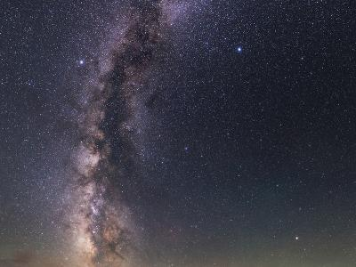 The Milky Way from Scorpius to Cygnus in the Night Sky Above Grand Teton National Park-Babak Tafreshi-Photographic Print