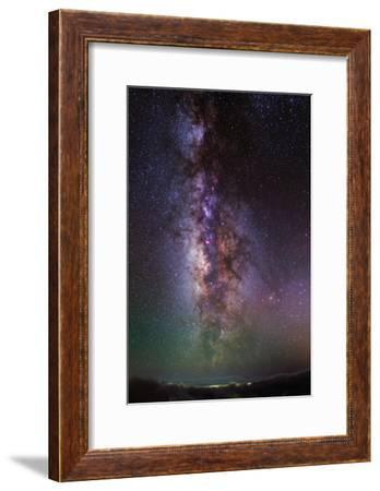 The Milky Way Towards the Bright Central Bulge in the Constellations Scorpius and Sagittarius-Babak Tafreshi-Framed Photographic Print